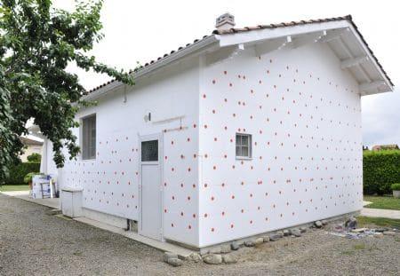 isolation mur extérieur polystyrène expansé Cellomur