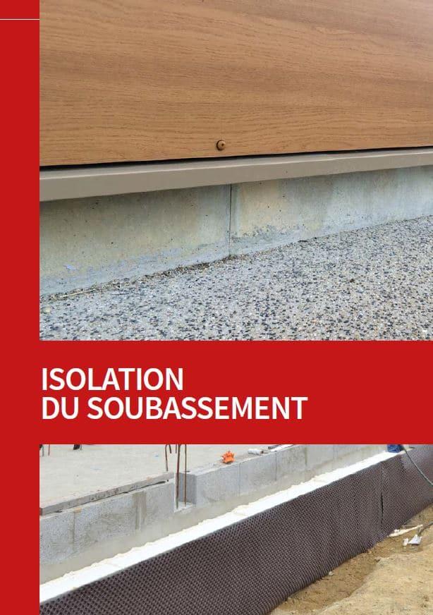 isolation soubassement fondations cellocem cellodrain cellomur polystyrene