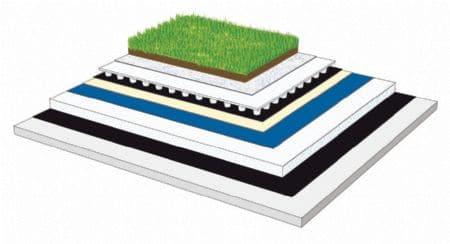 Isolation toitures végétalisées