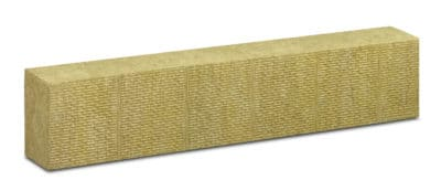 Panneau rigide de laine de roche pour l'isolation thermique par l'extérieur sous enduit.
