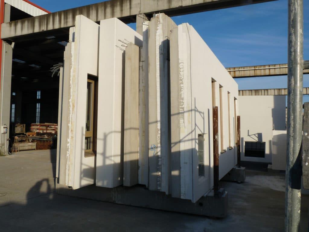 isolation intégrée prémur polystyrène hirsch isolation
