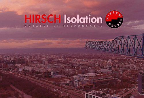 video institutionnelle hirsch isolation polystyrene expanse