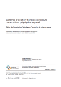 cpt 3035 isolation thermique exterieure polystyrene expanse