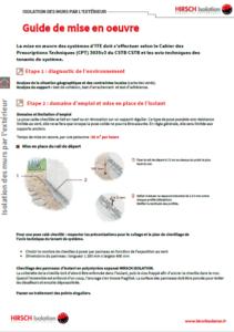 isolation thermique extérieur ITE PSE ETICS CEE