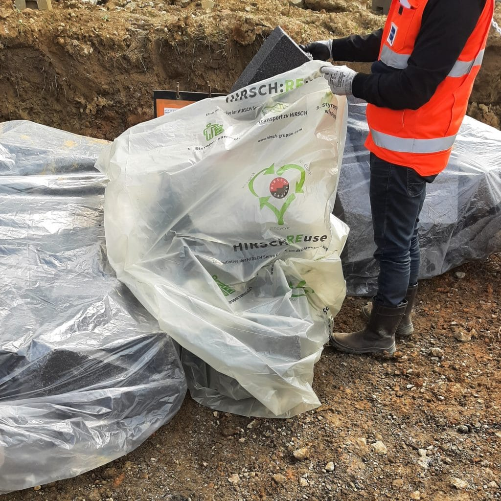 recyclage pse hirsch isolation reuse