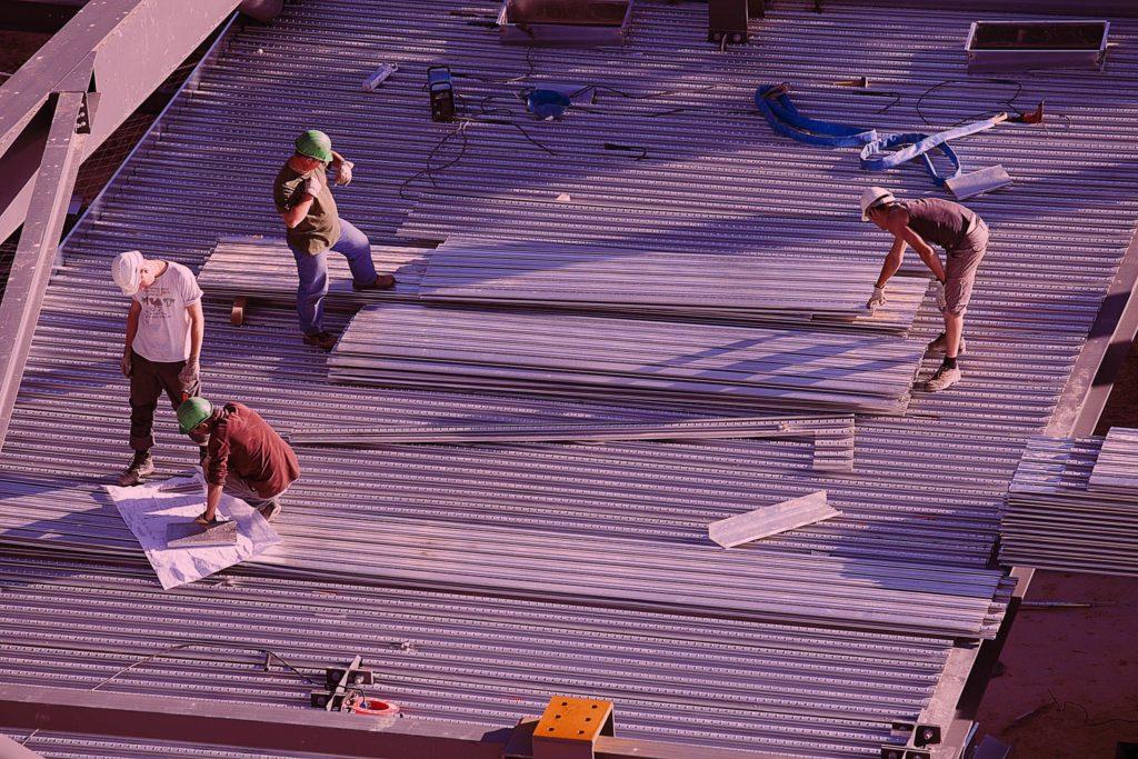 isolation toiture terrasse bac acier polystyrene expanse
